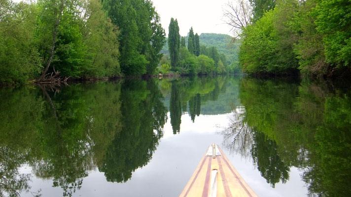 Balades en canoës sur la vézère au cœur d'une nature préservée