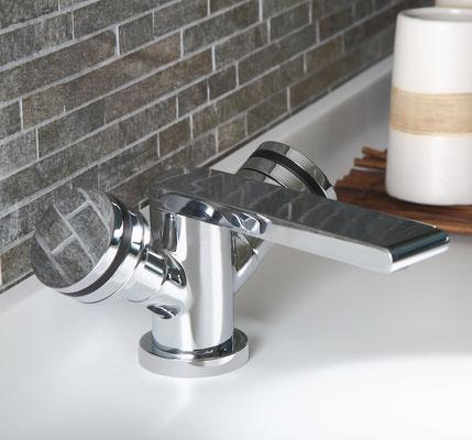 Design 1-Loch Waschtischarmatur PLAN, Chrom