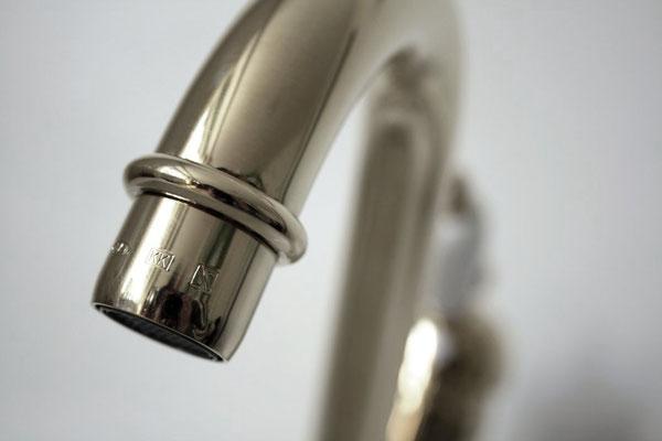 Küchenarmatur DEAUVILLE, Silber-nickel