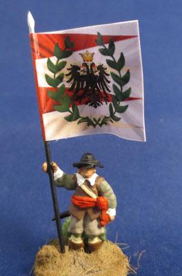Fahnenträger Saxony Miliz Regiment