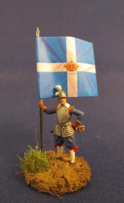 Fahnenträger Französisches Regiment