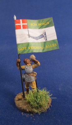 Fahnenträger Dänische Infantry Regiment