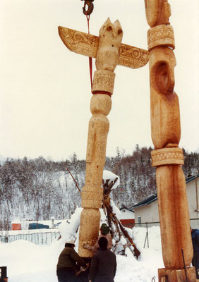 1981年12月「フクロウ」建立