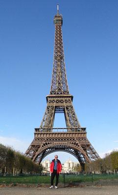 Ein Stop-over auf dem Rückflug in Paris.