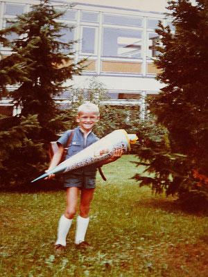 In der Grundschule Bruchköbel fing 1970 meine schulische Karriere an.