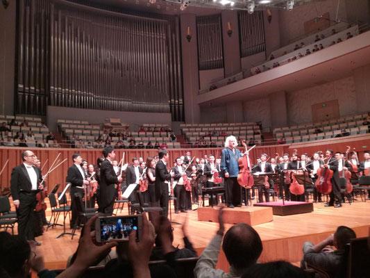 Mischa MAISKY und das Beijing Symphony Orchestra.