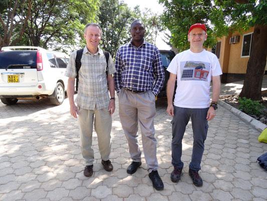 Winfried Sommer, Br. Shija und ich sahen uns im VTC.
