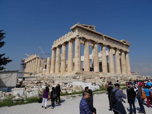 Parthenon, das Prunkstück der Akropolisbauten.