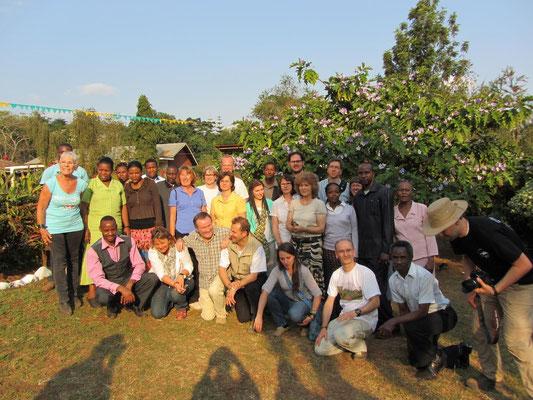 Gruppenfoto an der Kishumundu Sec. School.