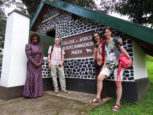 Besuch der Ausbildungsstätte für Safari-Guides, Ranger etc.