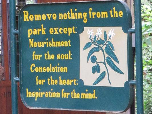 Diese Aufforderung haben wir bei allen Parks wahr werden lassen!
