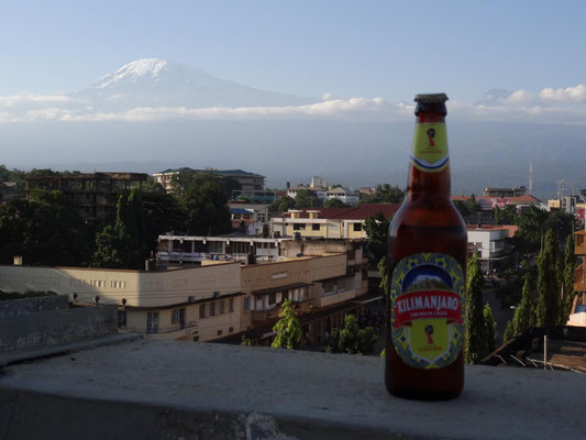 "Kilimanjaro: ""If you can´t climb it, drink it."""