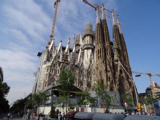 Sagrada Familia, die Langzeitbaustelle in Barcelona.