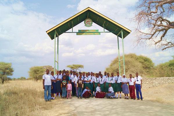 Meine lieben Begleiter bei der Safari im Tarangirepark. Ich fehle natürlich, den ich fotographiere wieder einmal!