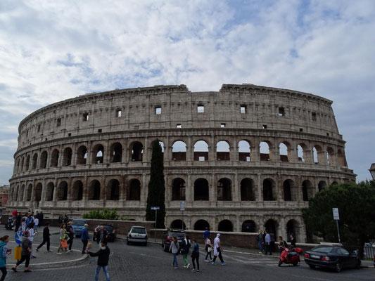 Einfach monumental: das Kolloseum.