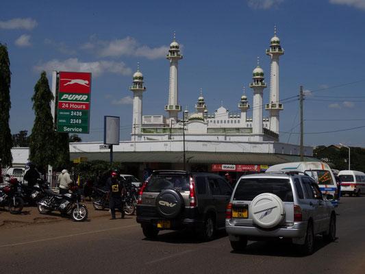 Die grosse Moschee von Moshi.