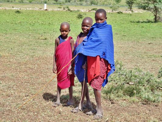 Junge Massai.