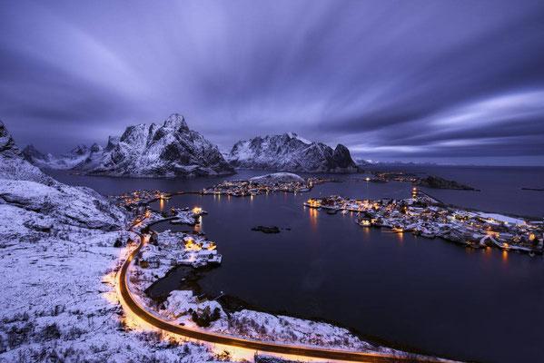 Cala a Reine, Noruega.