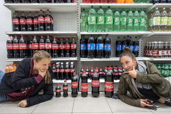coca cola sortiment & naja und ich