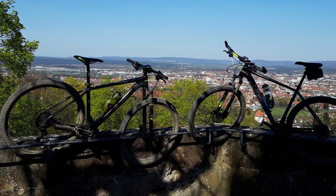 MB Tour über Zabelstein nach Bamberg auf die Altenburg 104 km