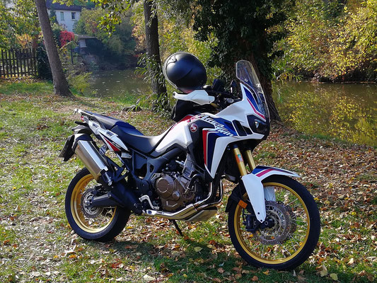 Motorradtour Hassberge