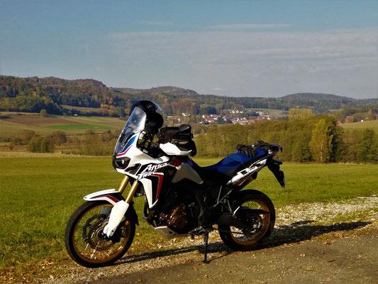 Motorradtour fränkische Schweiz