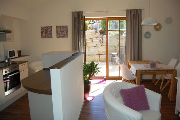 Ferienhaus Wohnbereich