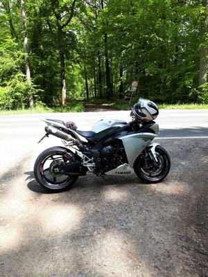 Motorradtour Steigerwald Rhön