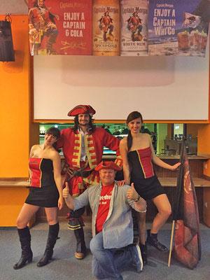 Captain Morgan Girls Dresden DJ