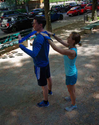 Personal Training - Hands on
