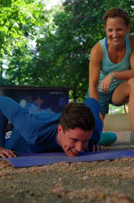 Personal Training - alles aus dem Körper rausholen und Spaß dabei haben
