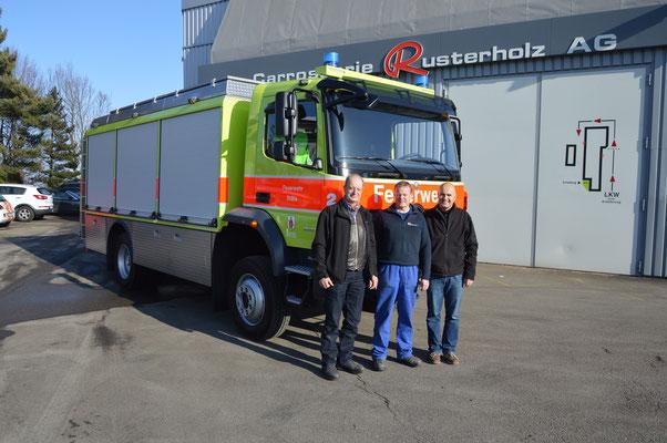 neues pionierfahrzeug mb / rusterholz 2015