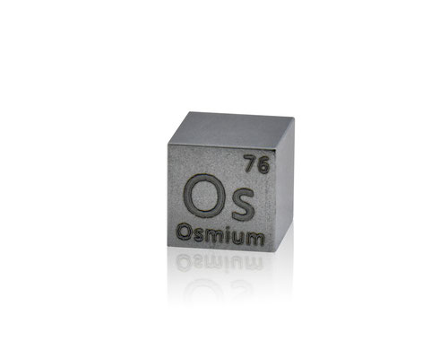 osmium density cube, osmium metal cube, osmium metal, nova elements osmium, osmium metal for element collection, osmium for investment