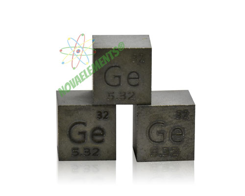 germanium density cube, germanium metal cube, germanium metal, nova elements germanium, germanium metal for element collection