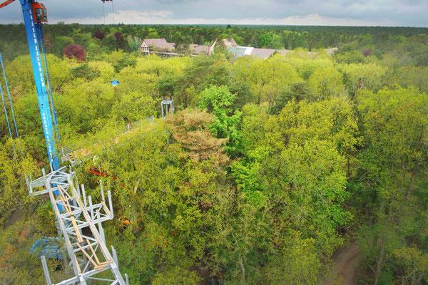 Bild Kamera 1 Richtung Chirurgie-Gebäude (Frühling)