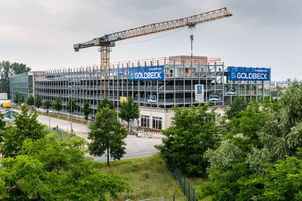 "Parkhaus ""Northgate"" im Businesspark ""gatelands"""