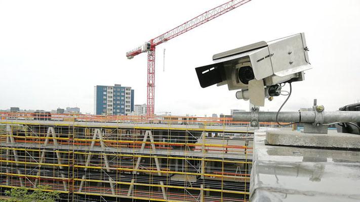 Kamerasystem auf Nachbargebäude