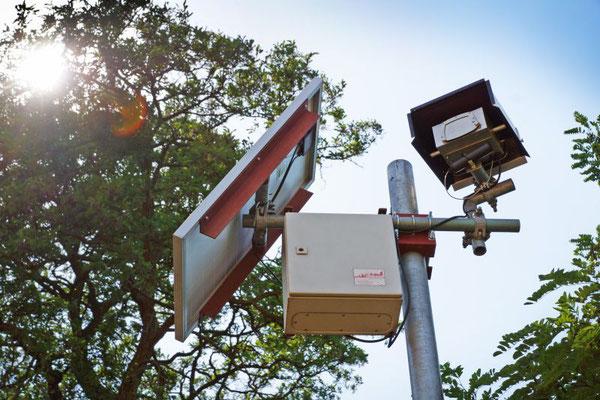Autarkes Kamerasystem am westlichen Baustellenende (2019)