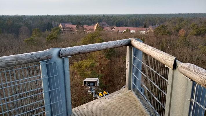 Kamera 1 am Aussichtsturm (Winter)