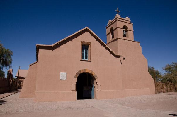 Adobe Kirche Iglesia San Pedro
