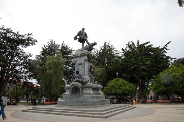 Denkmal des Fernando Magellan