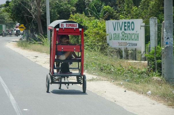 einfache Transportmittel