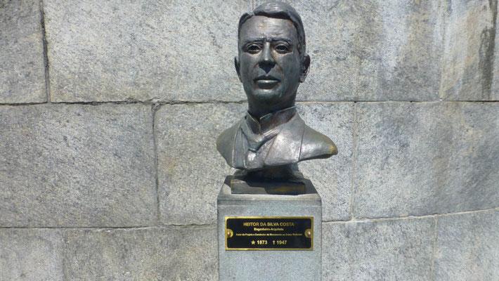 Der Architekt der Artdećo- Statue ist Heitor da Silva Costa