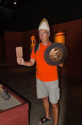 Einer der Mochica Krieger