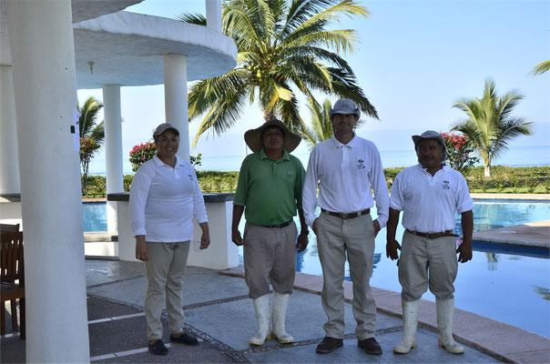 Maricela, Antonio, William y José