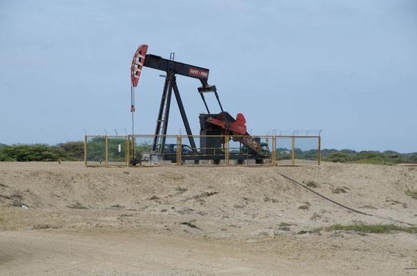 Es gibt unzählige Ölpumpen in Nordperu