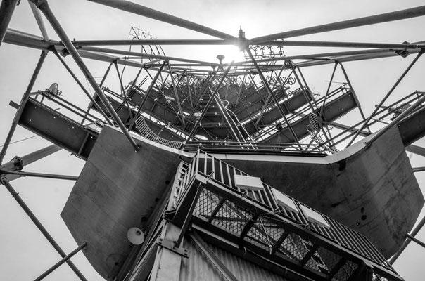 Torre de TV von der Plattform aufgenommen