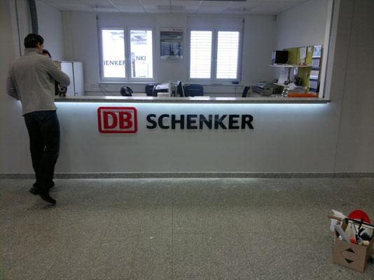 CNC gefräste Einzelbuchstaben