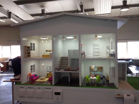 Smart Home Modell aktiv