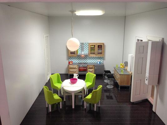 Lichtsteuerung Küche
